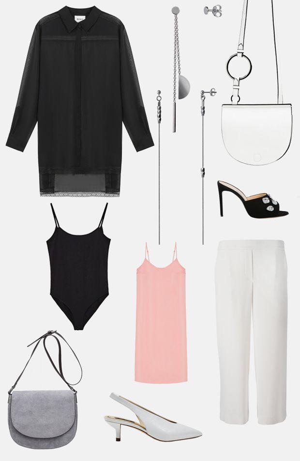 Колготки в сетку, двухслойные платья и полупрозрачные футболки — разбираемся, как интегрировать в гардероб хиты 90-х