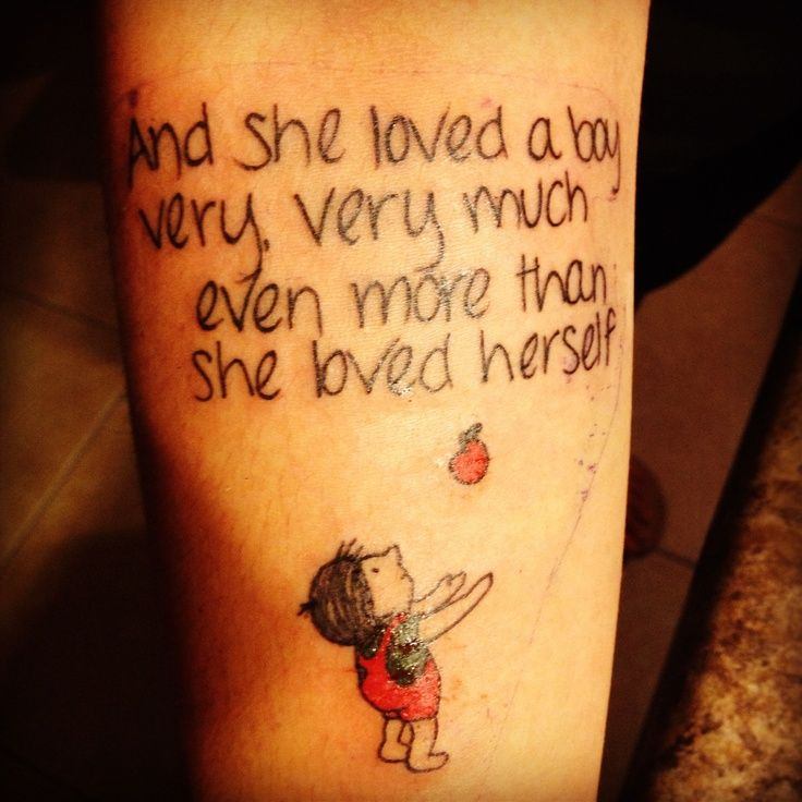 My Arm Is Dedicated To My Childhood Shel Silverstein Was: 17 Best Images About Tattoos On Pinterest