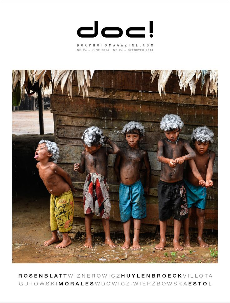 doc! photo magazine #24 - cover Cover photo: Vincent Rosenblatt