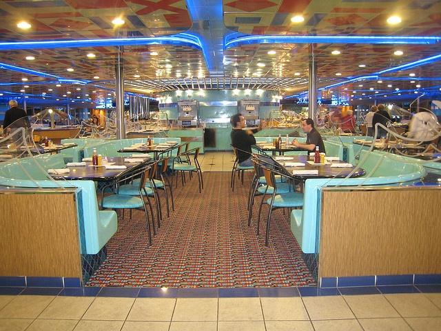 #Carnival Ecstasy Cruise.   This is the casual dining area, buffet style with some made to order fast food areas.