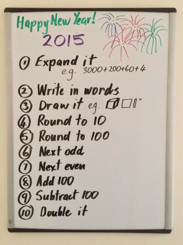Fun Games 4 Learning: Happy New Year Fun Math! Here is another great math idea for the 2015 new year! Use 2015 as the Number of the Day!