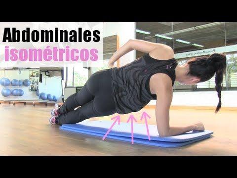 """Vientre plano """" Abdominales isométricos"""" - YouTube"""