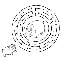 Kiddoland: Labirynt Świnki
