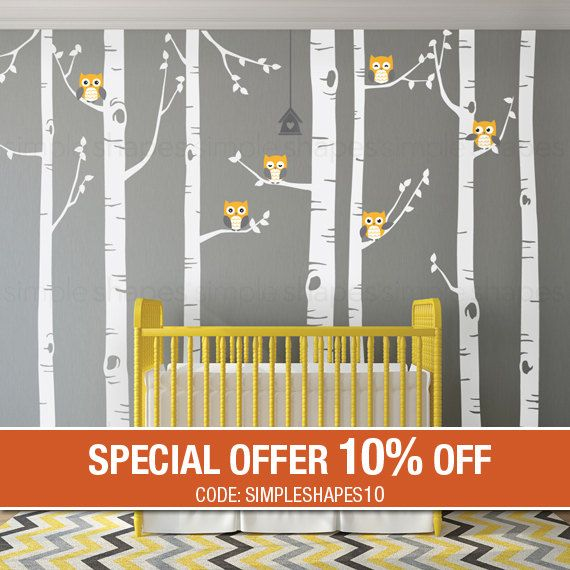 Best Wall Decals Nursery Images On Pinterest Nursery Wall - How to put up a tree wall decal