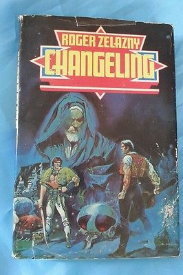 Changeling By Roger Zelazny HCDJ Vintage 1980 HCDJ Ace BCE