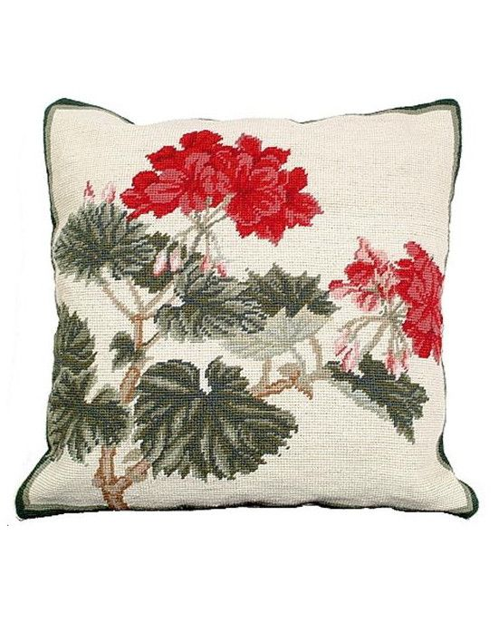 Geranium Pillow from Home Comfort