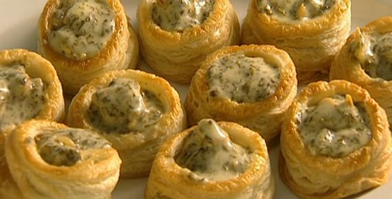 Rick Stein Cockles and laverbread vol-au-vents with Hollandaise sauce recipe on Saturday Kitchen