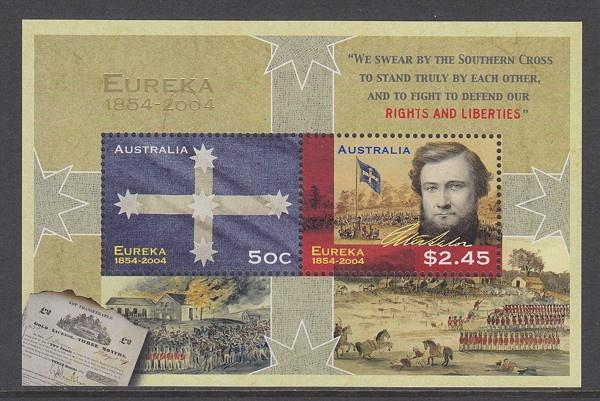 The iconic symbol of the Australian struggle for equality & democracy…