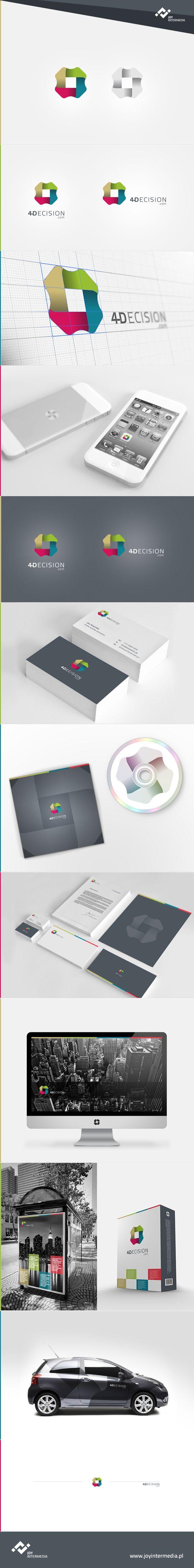 4Decision for Banfi by Piotr Kozak, via #Behance #Branding #Identity #Design