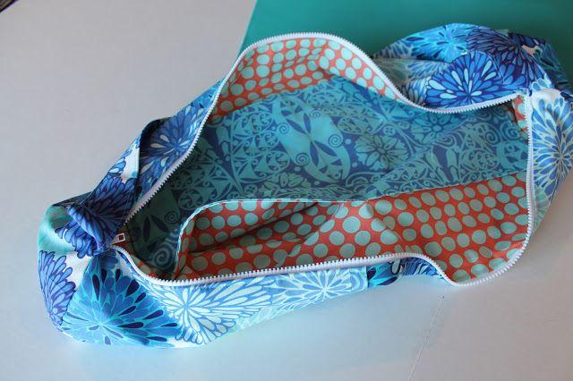 FREE yoga bag pattern