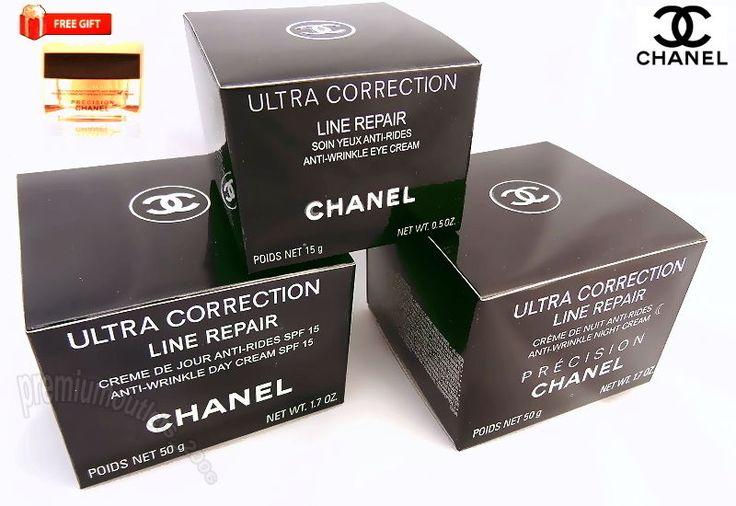 CHANEL ULTRA CORRECTION LINE REPAIR Anti-Falten 3 pcs Set OVP NEU