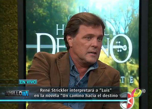 El actor estuvo con las conductoras de Pasillo TV para hablar de la nueva telenovela y de su personaje.