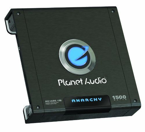 Planet Audio AC1500.1M 1500 Watts Max Power Class A/B Monoblock Power Amplifier by Planet Audio. $58.99. 1500 Watts Max Power Class A/B Monoblock Power Amplifier, 2-OHM Stable