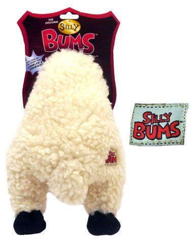 Rosewood Silly Bums Sheep Dog Toy, Large ROSEWOOD Silly Bums
