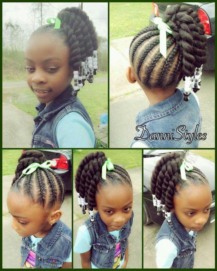 Marvelous 1000 Ideas About Kids Braided Hairstyles On Pinterest Kid Short Hairstyles For Black Women Fulllsitofus