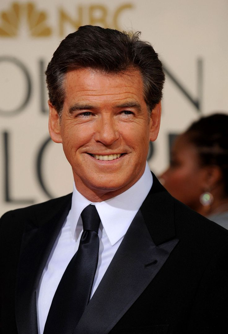 Pierce Brosnan. He comes across as a really nice bloke. And easy on the eye as well.