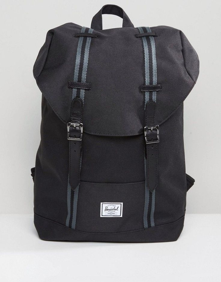 Herschel Supply Co Retreat Mid Volume Backpack with Contrast Strap - B