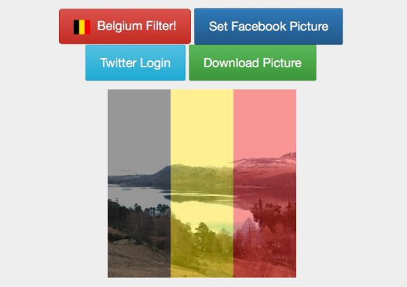 How to use Rainbow Filter to get Brussles Flag on your profile picture. You can use on other social media networks.