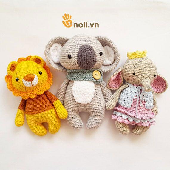 Bỏ túi ngay chart móc gấu Koala xinh xắn, dễ thương