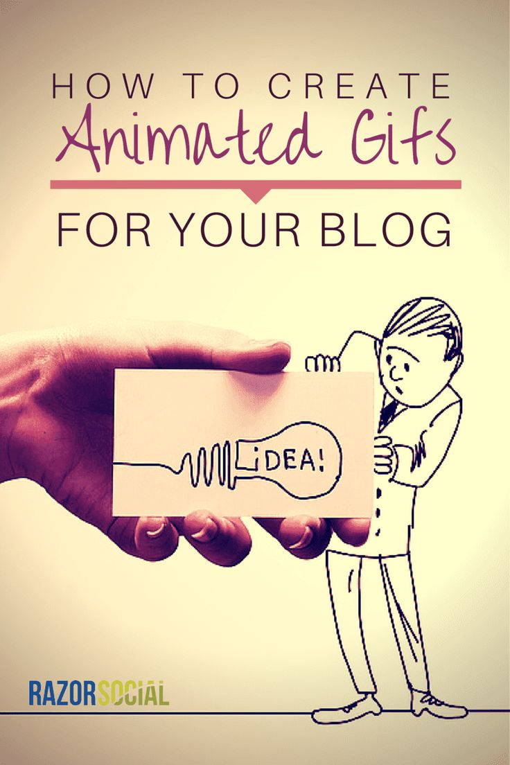 Create Animated GIFs for your Blog (portrait)