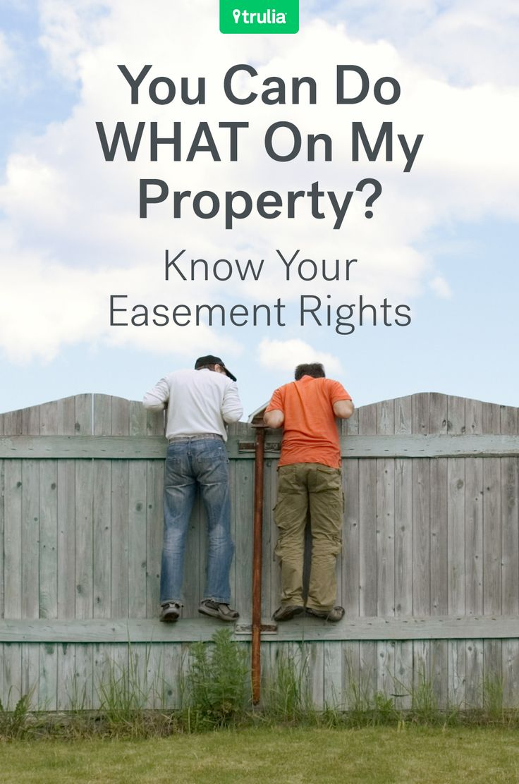 How Do I Find Easements On My Property