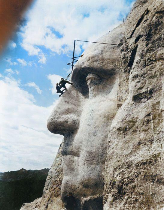 Mount Rushmore, United States, 1932