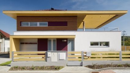 Family house Brno - Jehnice - technically unique solution without any support columns