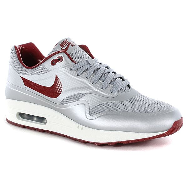 nike air max lunar 1 shoes - white\/chilling red lobster