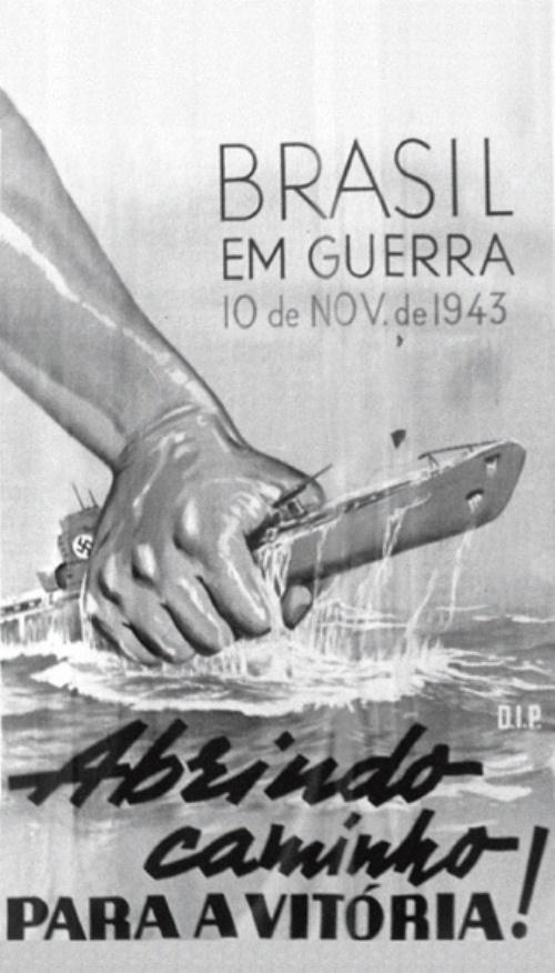 Brasil em Guerra 10 de Nov de 1943 Abrindo caminho para a vitoria! Brazil at war Nov.10, 1943 Leading the way to victory!