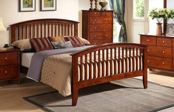 Metro Espresso Bed Mission Style Bedrooms Furniture Bedroom Sets