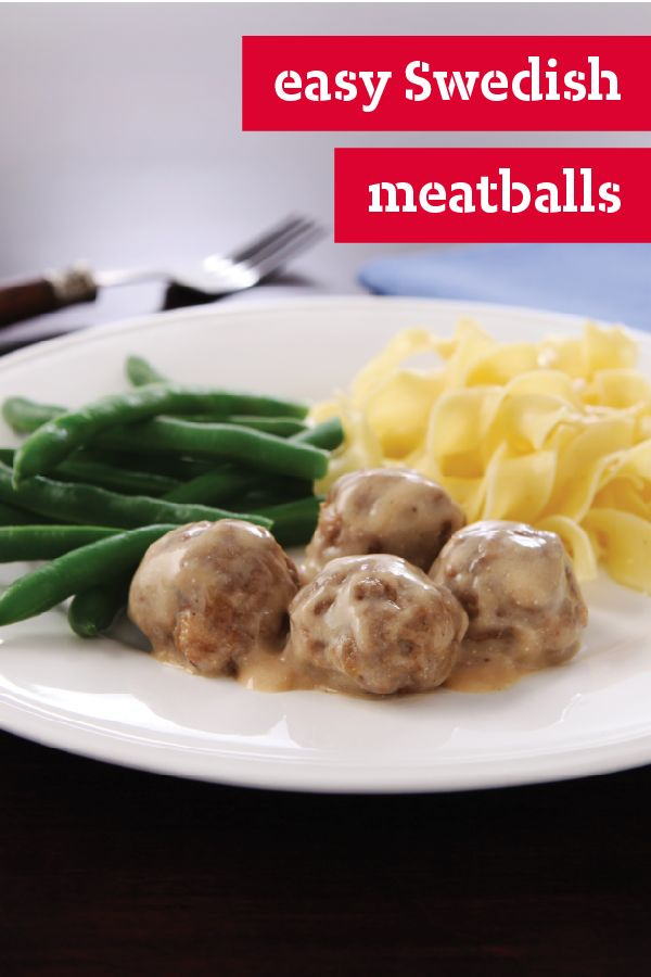 Easy Swedish Meatballs – Super-creamy gravy and tender, tasty meatballs make for a delicious dish recipe. Plus, shortcuts make this an easy party special.