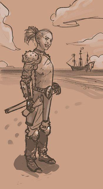 Buccaneer sketch