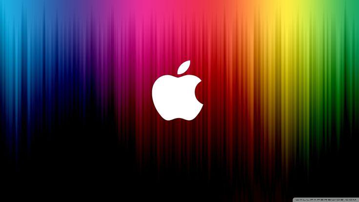 Rainbow Apple Wallpaper