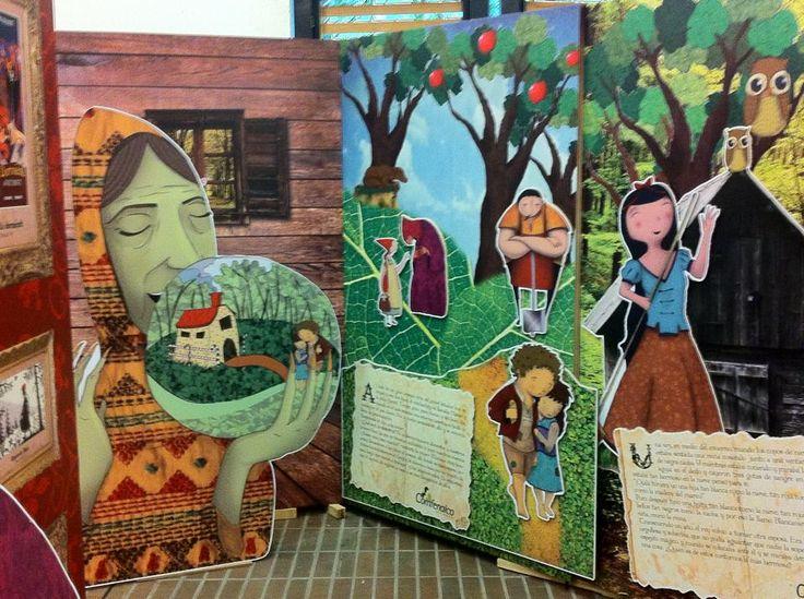 Exhibicion Hermanos Grimm Colaboracion con Mophart Comfenalco Fiesta del Libro