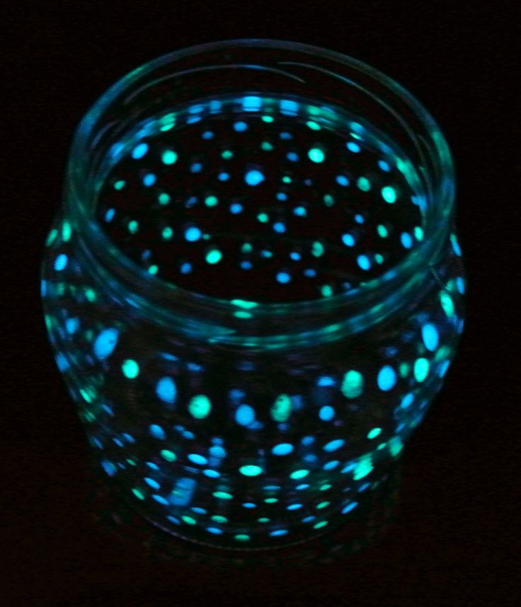 Fluorescent jar (full tutorial on our website)