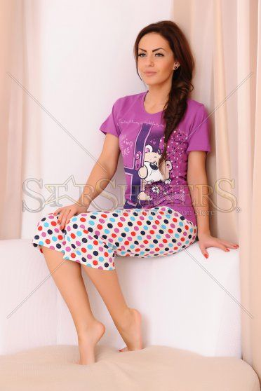 Pijama Hello Darling Purple