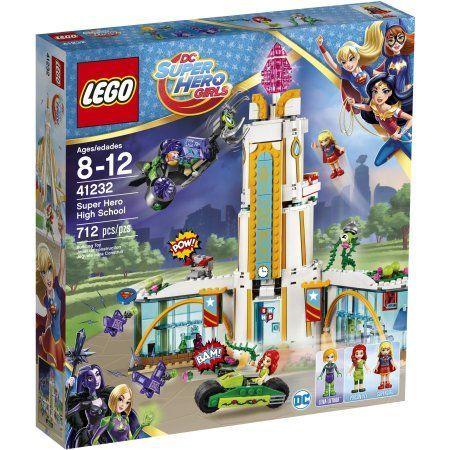 Lego DC Super Hero Girls Super Hero High School, 41232, Multicolor