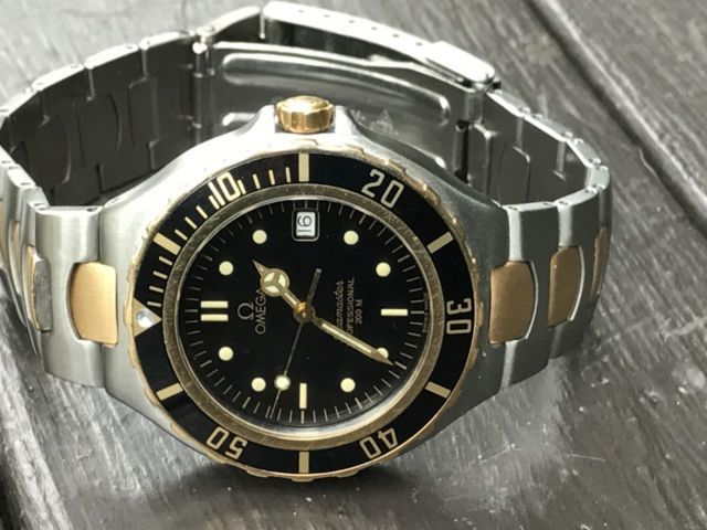 Omega Seamaster Professional Two Tone Quartz Vintage Swiss Men's Watch | eBay