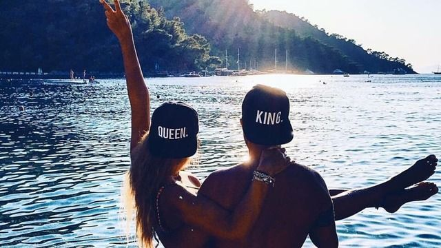 King <3 Queen | Love | Travel Couple Goal | Vacation  | Romantic