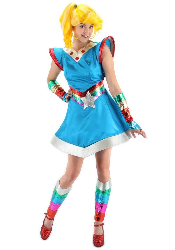 80's cartoon costume ideas  rainbow brite ladies 80s