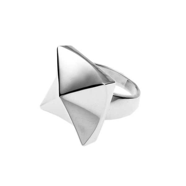 PUSHMATAAHA // Eclipse Ring in 925 Sterling Silver