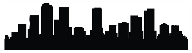 Denver, Colorado Skyline Decal. Please note which color you would like or it will be sent in Black. Colors -White, Black, Red, Yellow, Blue, Orange, Gold, Silver, Matte White, Matte Black, Pink, Purpl