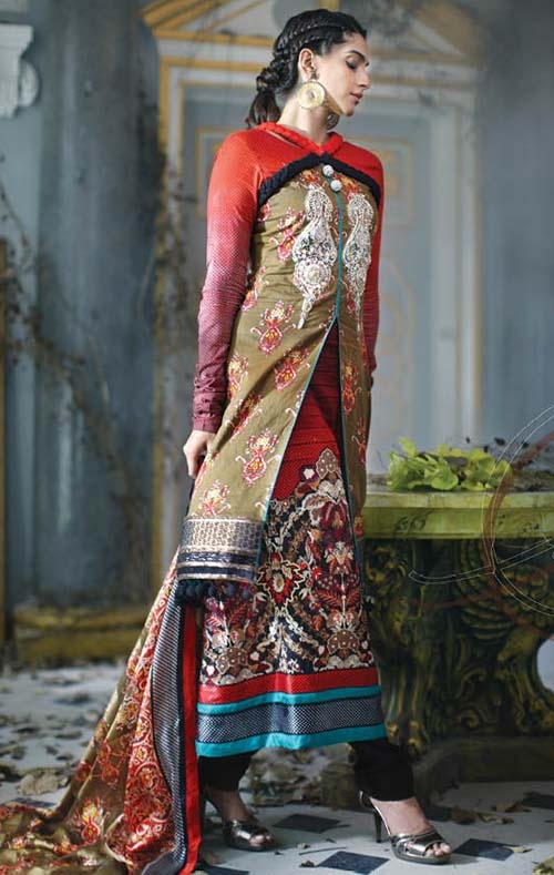 Firdous Fancy Collection 2012