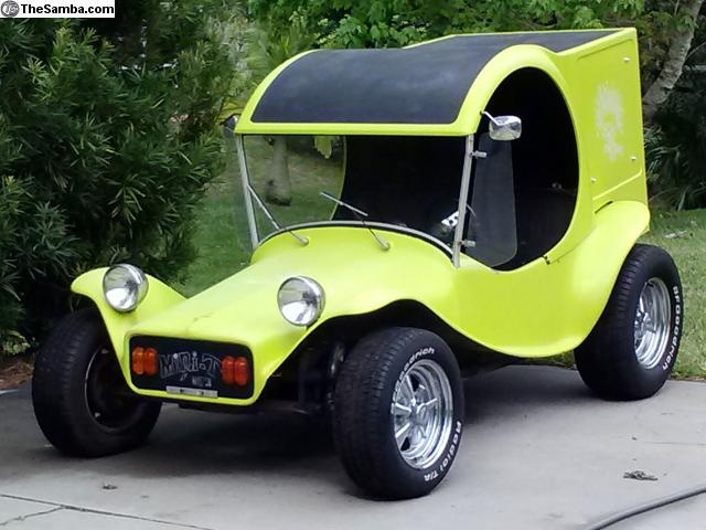 Rare Berry Mini T C-Cab Body Dune Buggy