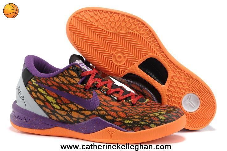 Orange Purple Year Of The Snake 555035 033 Nike Zoom Kobe VIII For Sale: Nike