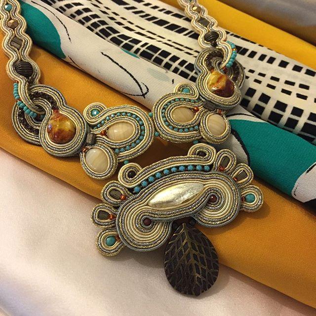 Neutral colors with a Dori twist....  #DoriCsengeri #neutralcolors #springtrends #fashionaccessories #necklace