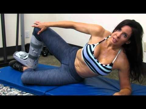 ▶ Keeping your body fit and toned after a foot or ankle injury - YouTube