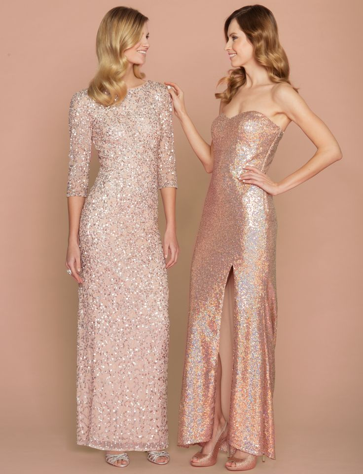 Scintillating Sequins Embellish These Dresses To Perfection Lewedding Leweddingboutique Lecau Bridesmaid