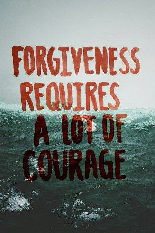 Indeed it does but there is no reason not to give it. Even if the person isn't deserving, at what point do we make a stand and forgive anyways. It's a relief off our hearts and we are able to move forward completely without regret or anger.