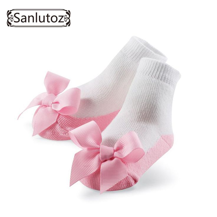 Sanlutoz Calzini Del Bambino Calzini Infantili per le Ragazze Neonati Calzini per la Principessa Festa Di Compleanno Regali per le Neonate di Modo 0-12 Mesi